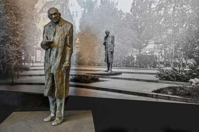 Projekt pomnika Władysława Bartoszewskiego w Sopocie