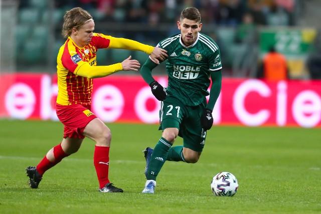 Jakub Łabojko (z prawej) wzbudza zainteresowanie dwóch klubów z Serie A oraz dwóch z Serie B