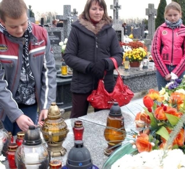 Rodzina Kapiców pamiętała o przodkach