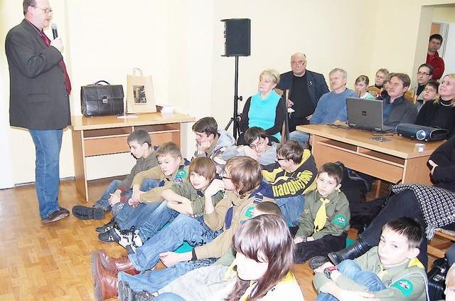 dr hab. Aleksander Smoliński opowiada o dziejach Szwadronu Nadgoplańskiego