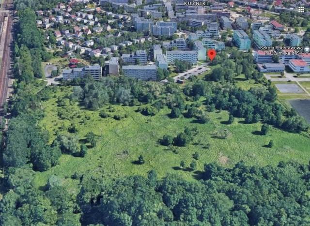 Miasto planowało sprzedaż 10 hektarowej działki przy ulicy Sarbinowskiej na Kuźnikach we Wrocławiu.
