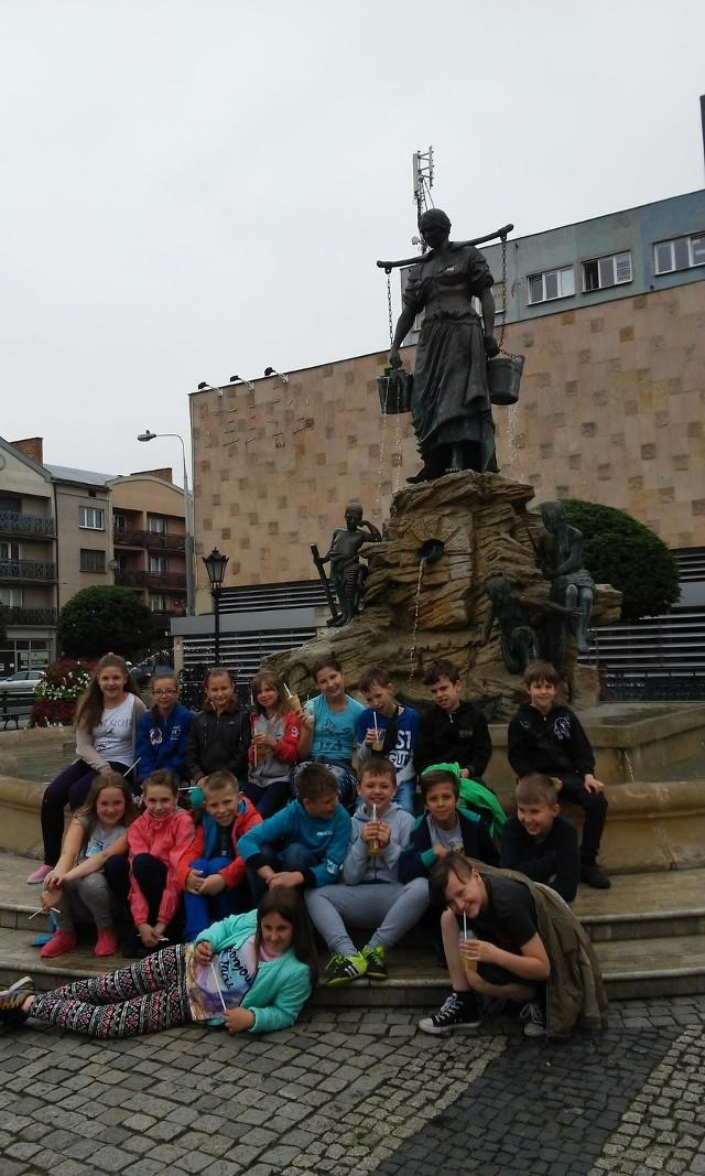 Uczniowie klasy 5d ze Szkoły Podstawowej nr 9 im. Jana Kochanowskiego w Gorzowie, podopieczni Izabeli Krzyżanowskiej.