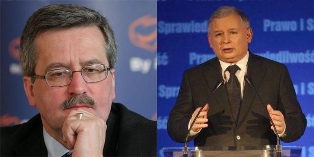 Według sondażu na Bronisława Komorowskiego głosowałoby 42,2 procent, a na Jarosława Kaczyńskiego 35,9 procent ankietowanych