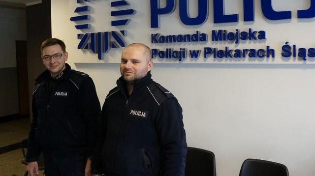 Policjanci z Piekar Śląskich uratowali młodą kobietę, która próbowała popełnić samobójstwo