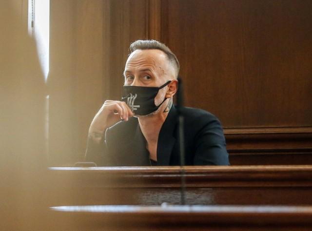 """""""Nergal"""" wrócił przed sąd za orła z odwróconym krzyżem"""