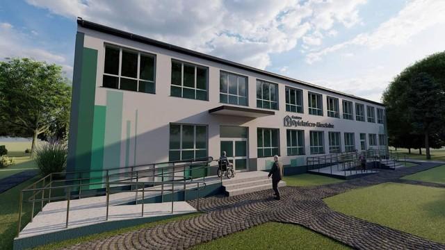 Tak ma wyglądać hospicjum stacjonarne w Kociołkach, które ma powstać do końca 2022 roku.