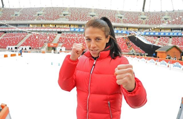 Na zdjęciu: Joanna Jędrzejczyk. Joanna Jędrzejczyk - Walentina Szewczenko, UFC. Polka przegrała po raz trzeci w karierze [wynik walki Jędrzejczyk - Szewczenko, wideo]