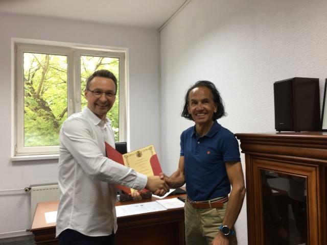 Na początku lipca akt nominacji na Szefa Sztabu Głównego otrzymał starszy brygadier w st. rez. Tomasz Wiśniewski, a dokument wręczył Komendant Główny Gwardii, Przemysław Walewski.