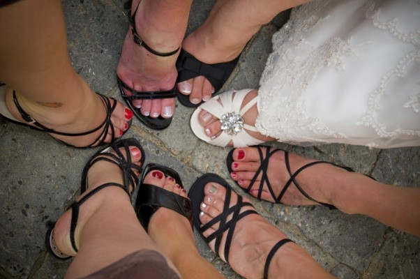 Ślubne buty muszą być przede wszystkim wygodne.