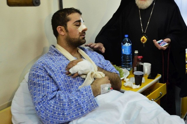 George M. doznał poważnych obrażeń, spędził w szpitalu kilkanaście dni. Do tej pory nie wrócił do zdrowia.