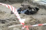 Makabryczne znalezisko na budowie pod Wrocławiem. Robotnicy odkryli kości