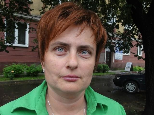 Agnieszka Sycz, szefowa rzeszowskiego oddziału Polskiego Związku Działkowców.