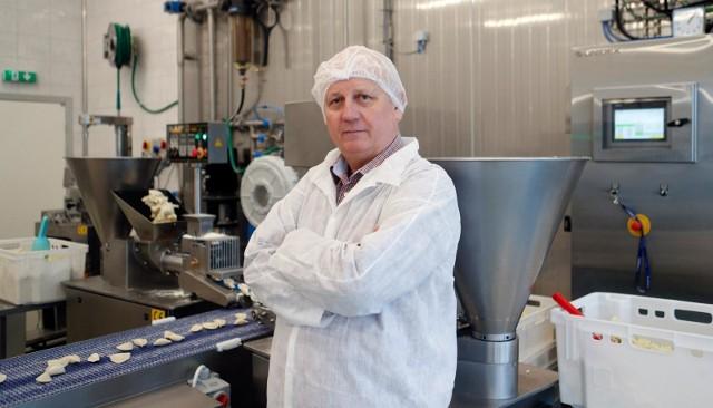 Jako pierwsza firma w Polsce uruchomiliśmy produkcję pierogów bezglutenowych na dużą skalę - mówi Stanisław Cabaj,  prezes P.H.U. Mateo.