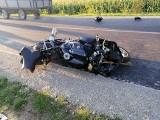Pantalowice. 22-letni motocyklista zginął w wypadku. Zderzył się z przyczepą ciągnika rolniczego