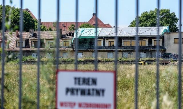 Na terenie dawnego klubu sportowego Gedania w Gdańsku Wrzeszczu ruszyły prace budowlane.