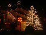 Iluminacje świąteczne z diodami LED