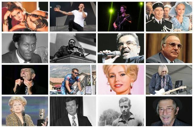 Dziś wspominamy znane osobistości ze świata kultury, polityki i sportu, które odeszły od nas w ciągu minionych 12 miesięcy.