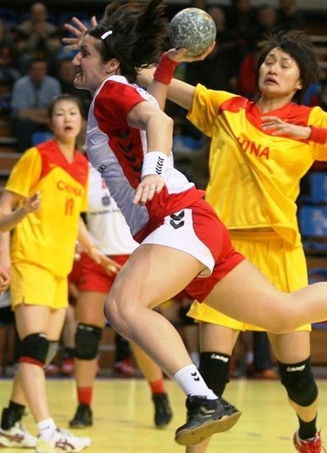 Reprezentantka Polski Dorota Małek jest liderką lubelskiej drużyny.