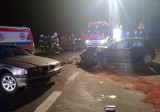 Wypadek w Żużeli. Dwie osoby ranne w zderzeniu BMW i kii