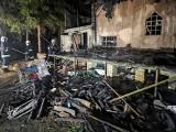 Tragiczny pożar altany. Nie żyje dwóch mężczyzn
