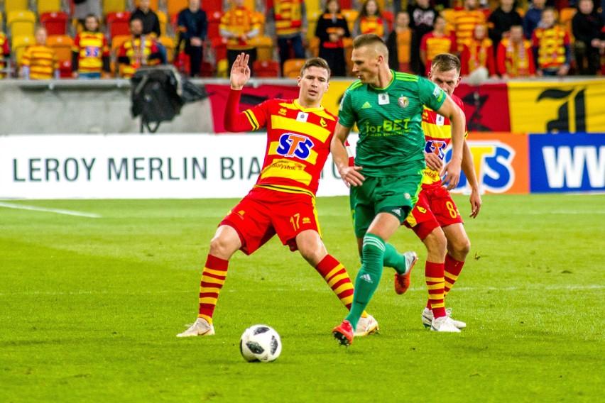 Śląsk Wrocław - Jagiellonia 2:0. Miał być rewanż, a Jagiellonia spada z podium tabeli ekstraklasy