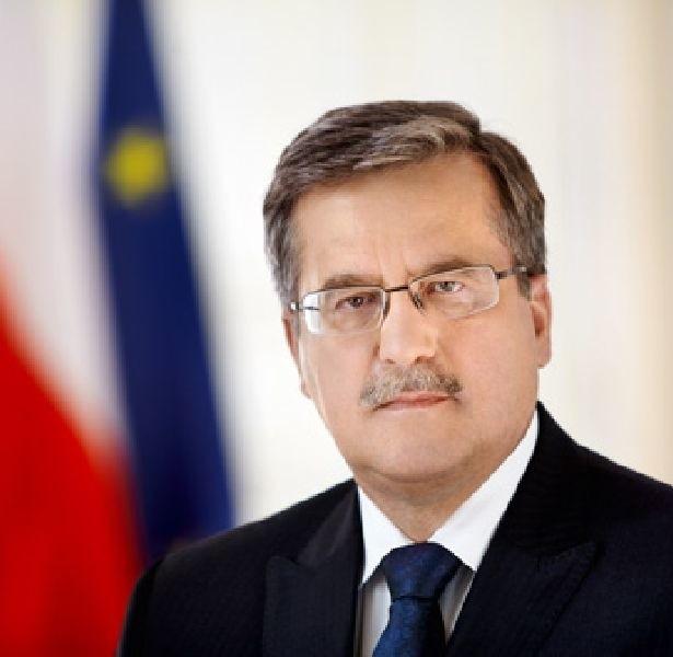 Prezydent Bronisław Komorowski (fot. www.prezydent.pl)