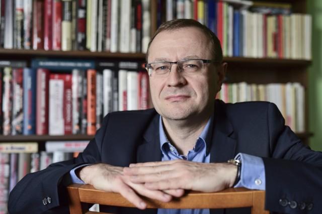 Prof. Antoni Dudek, politolog z Uniwersytetu Kardynała Stefana Wyszyńskiego