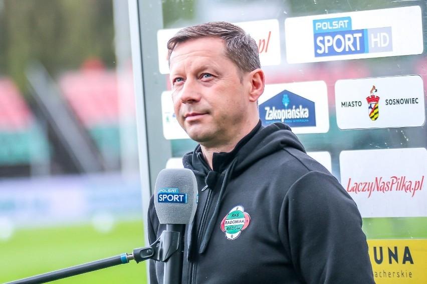 Dariusz Banasik, trener Radomiaka Radom: - Drużyna będzie wzmocniona (ROZMOWA WIDEO)