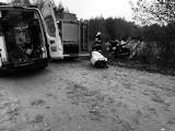 Borsukówka. Wypadek drogowy w gminie Dobrzyniewo Duże. Kierowca citroena zmarł po dachowaniu