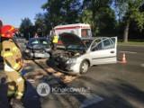 Kraków. Wypadek dwóch osobówek na Dobrego Pasterza. 46-letnia kobieta ukarana mandatem
