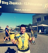 Najlepszy biegacz wśród bibliotekarzy pracuje w Dobczycach