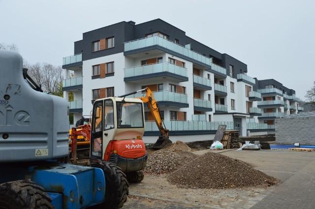 Osiedle Nowa Zamiejska przy ul. Zamiejskiej. To 96 mieszkań w blokach o niskiej zabudowie