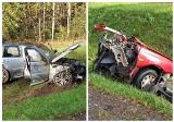 Wypadek na DK 66 w powiecie hajnowskim na trasie Kleszczele - Suchowolce w relacji strażaków [ZDJĘCIA]