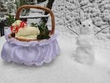 Zakopane. Czy to na pewno Wielkanoc? Na Podhalu i w Tatrach sypie śnieg. Jak w środku zimy...