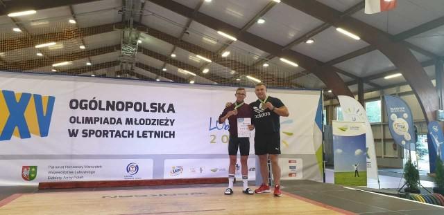 Ogólnopolska Olimpiada Młodzieży w podnoszeniu ciężarów w Drzonkowie