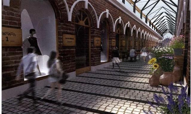 Zwycięski projekt architektoniczny. Tak mogłyby wyglądać w przyszłości Sutki w Hrubieszowie
