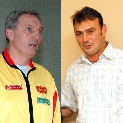 Igor Prielożny (po lewej) i Dariusz Luks