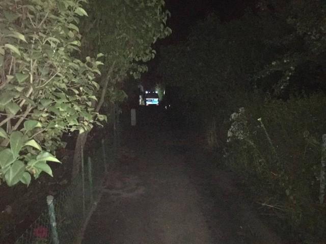 Do zabójstwa doszło na ogródkach działkowych przy ulicy Wierzbowej w Pleszewie