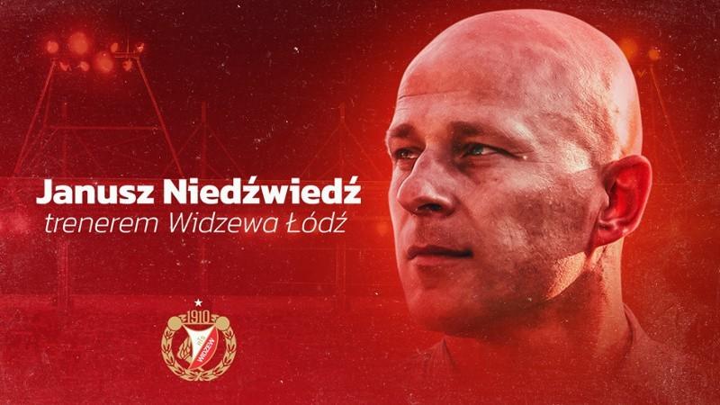 Jest już nowy trener piłkarskiej drużyny Widzewa