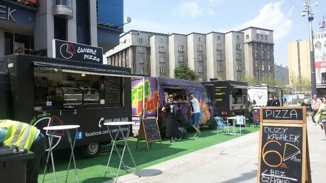 Food trucki wrócą w kwietniu na katowicki rynek