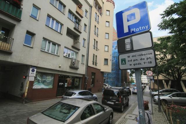 Strefa płatnego parkowania we Wrocławiu.