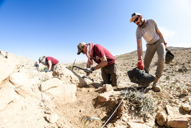 Krakowscy archeolodzy prowadzą badania w Jordanii od 2014 roku
