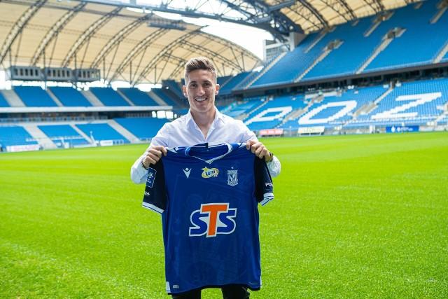 Portugalczyk Joel Pereira ma 24 lata. W Lechu Poznań będzie rywalizował z Alanem Czerwińskim