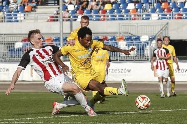 Żółte, czarne, niebieskie. Jak wyglądały koszulki piłkarzy Stali Rzeszów w ostatnich 10 latach?