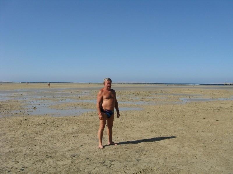 – Tak wyglądało morze, nad którym spędziliśmy urlop – opowiada Andrzej Kołacz.