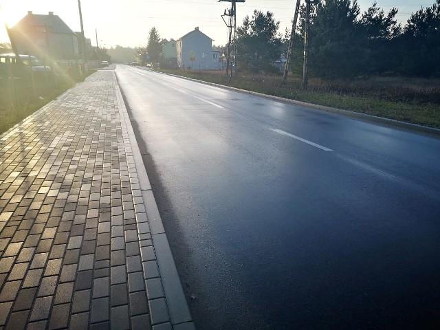 Gmina Rzekuń. Ulica Nowa w Laskowcu zyskała nowe oblicze, 13.02.2020