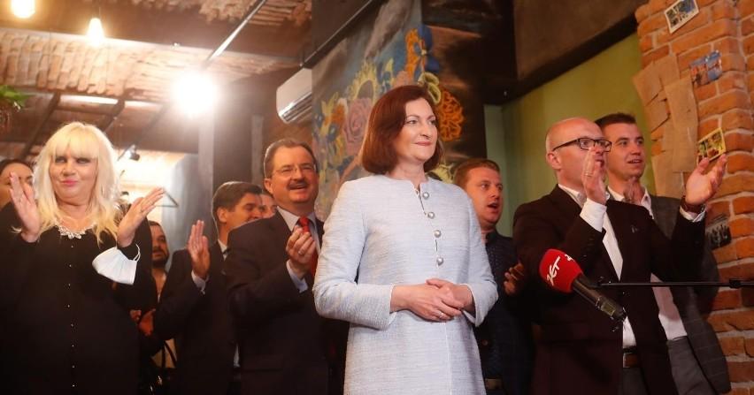 Ewa Leniart o wyborach w Rzeszowie: Zyskałam wielu wspaniałych przyjaciół [WIDEO]