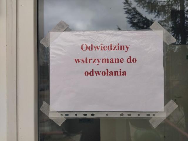 Szpital USK przy ulicy Żurawiej także zamkną drzwi przed odwiedzającymi pacjentów