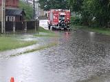 Potężne burze w powiecie lublinieckim. Domy w Rusinowicach i Wierzbiu są podtopione