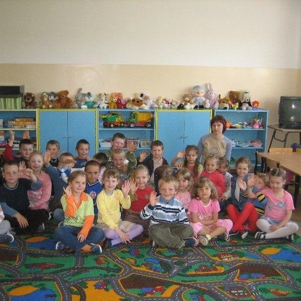 W przedszkolu samorządowym w  Chrostkowie.